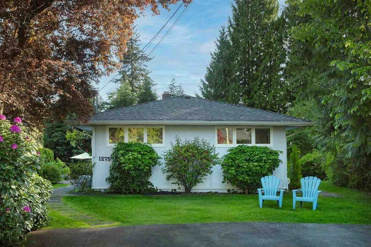 1275 BRANTWOOD ROAD - Capilano NV House/Single Family for sale, 3 Bedrooms (R2586201)