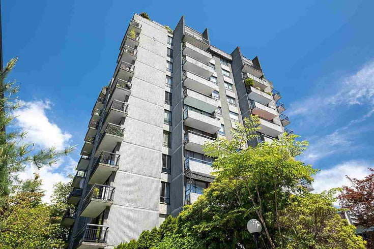 805 1720 BARCLAY STREET - West End VW Apartment/Condo for sale, 1 Bedroom (R2586470)