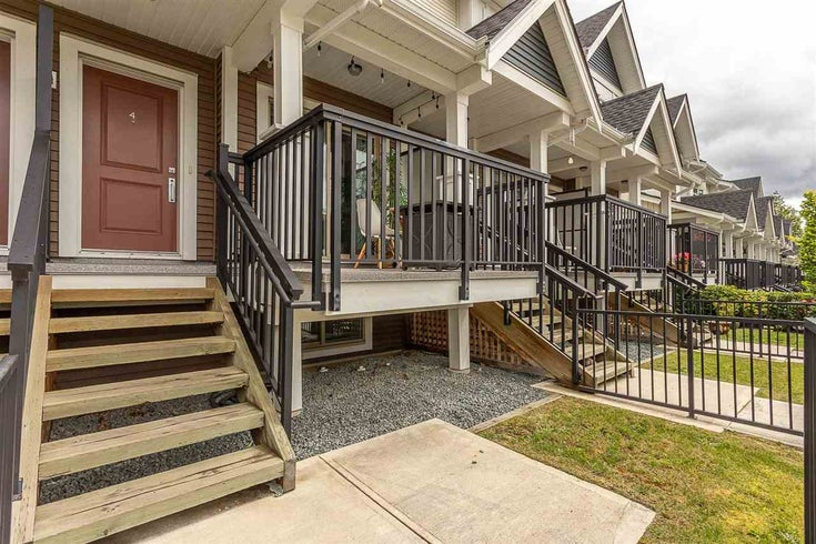 4 32633 SIMON AVENUE - Abbotsford West Townhouse for sale, 2 Bedrooms (R2586755)