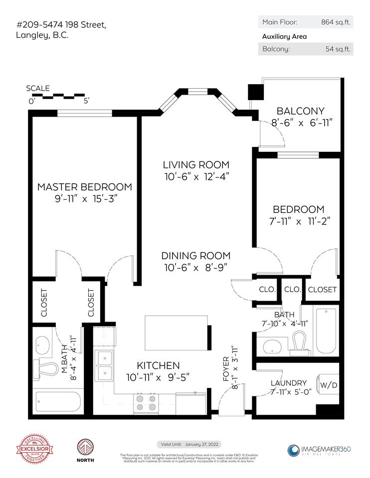 209 5474 198 STREET - Langley City Apartment/Condo for sale, 2 Bedrooms (R2586802) - #20