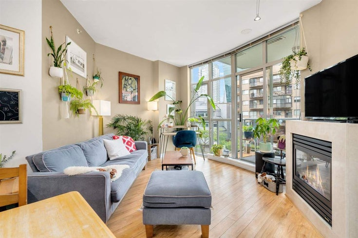 303 1050 SMITHE STREET - West End VW Apartment/Condo for sale, 1 Bedroom (R2586886)
