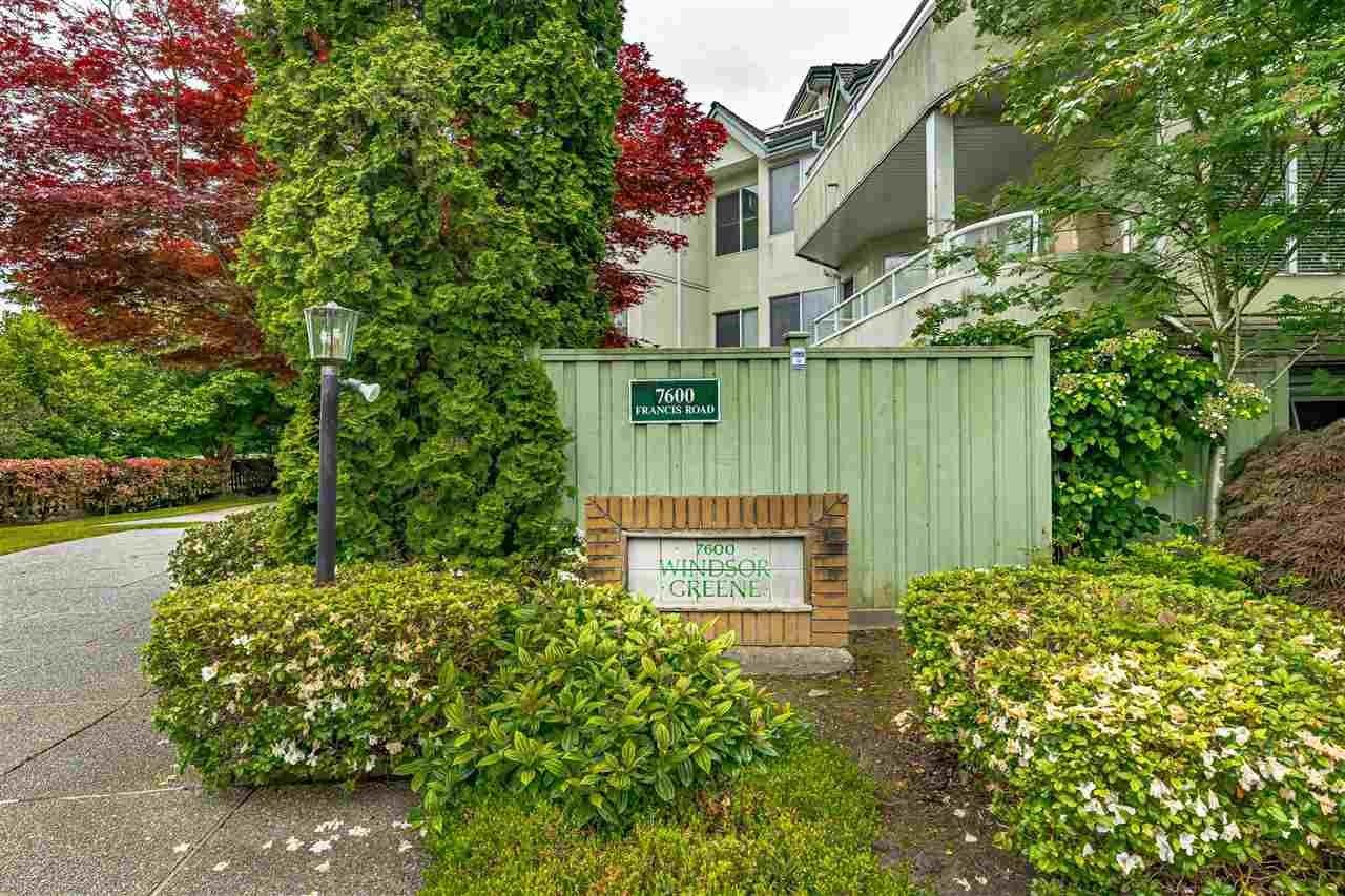 205 7600 FRANCIS ROAD - Broadmoor Apartment/Condo for sale, 2 Bedrooms (R2587080)