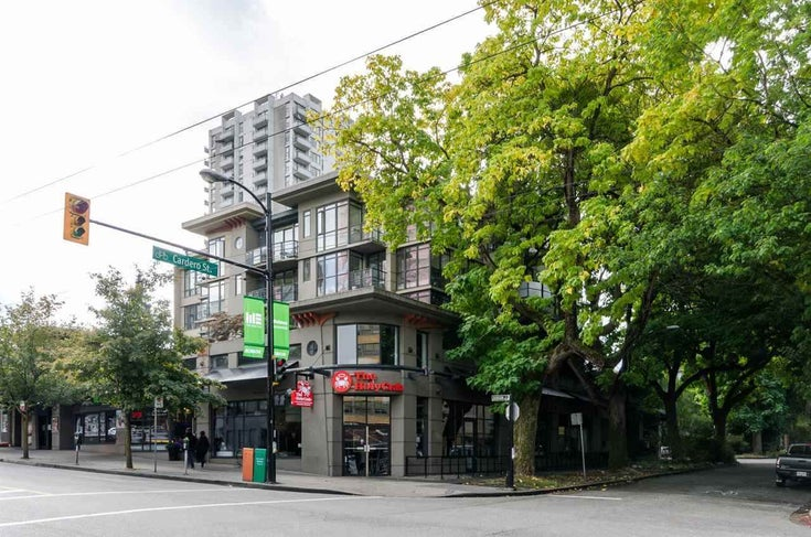 506 828 CARDERO STREET - West End VW Apartment/Condo for sale, 1 Bedroom (R2587181)
