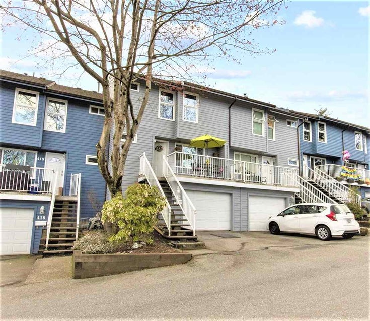 415 LEHMAN PLACE - North Shore Pt Moody Townhouse for sale, 4 Bedrooms (R2587231)