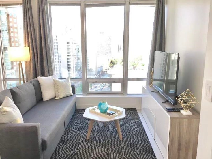 909 989 NELSON STREET - Downtown VW Apartment/Condo for sale, 1 Bedroom (R2587678)