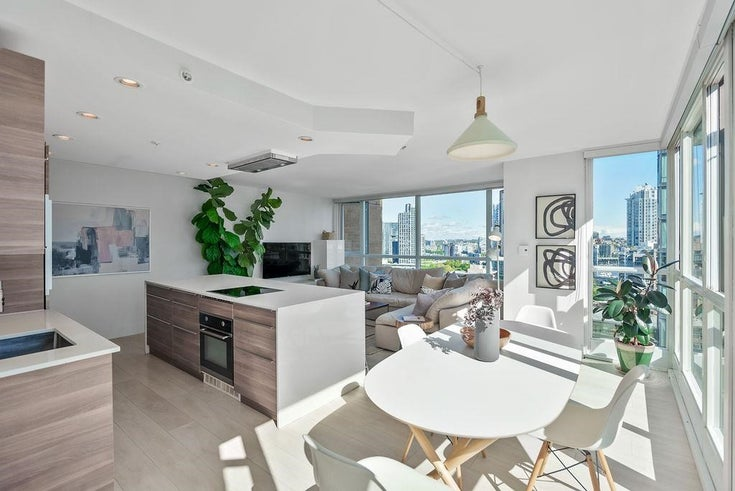 1208 1188 RICHARDS STREET - Yaletown Apartment/Condo for sale, 1 Bedroom (R2587927)