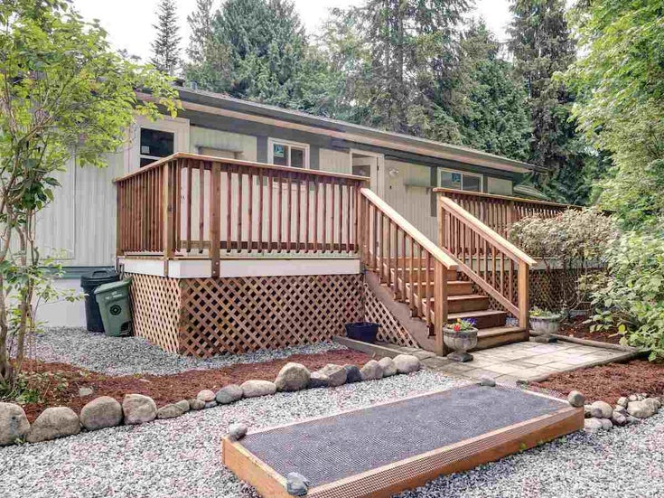 17 240 HARRY ROAD - Gibsons & Area Manufactured for sale, 2 Bedrooms (R2588608)