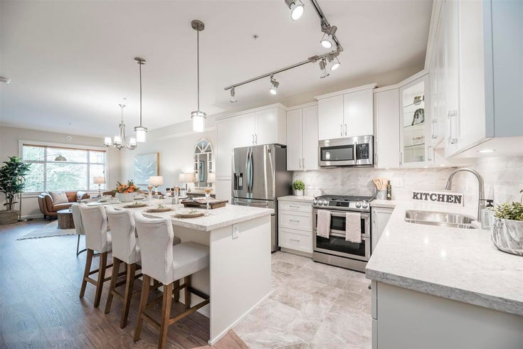 309 8526 202B STREET - Willoughby Heights Apartment/Condo for sale, 3 Bedrooms (R2588827)