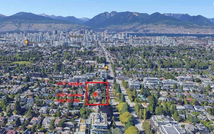 4261 CAMBIE STREET - Cambie House/Single Family for sale, 4 Bedrooms (R2588861)