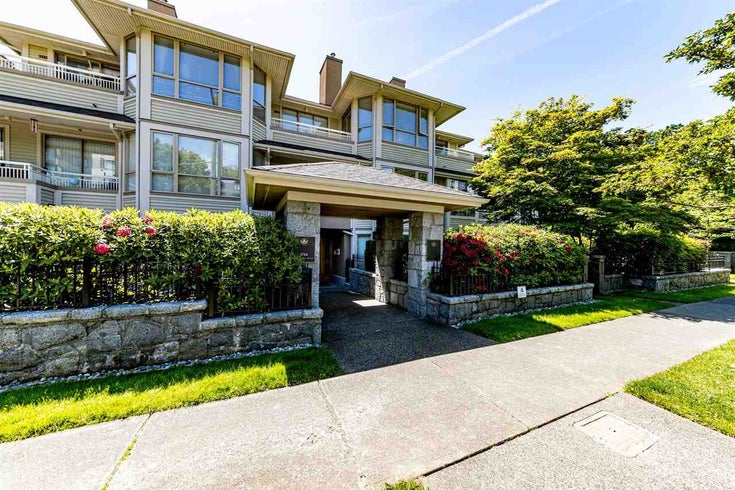 208 3766 W 7TH AVENUE - Point Grey Apartment/Condo for sale, 2 Bedrooms (R2589002)