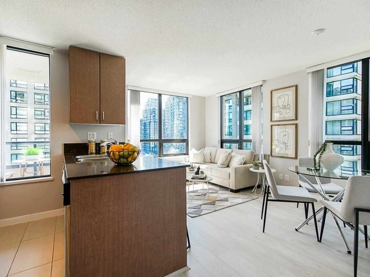 1307 909 MAINLAND STREET - Yaletown Apartment/Condo for sale, 1 Bedroom (R2589059)