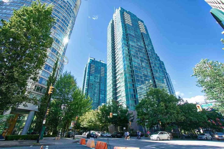 802 1200 W GEORGIA STREET - West End VW Apartment/Condo for sale, 1 Bedroom (R2589060)