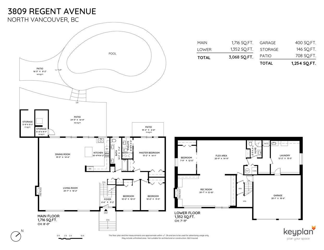 3809 REGENT AVENUE - Upper Lonsdale House/Single Family for sale, 4 Bedrooms (R2589294) - #24