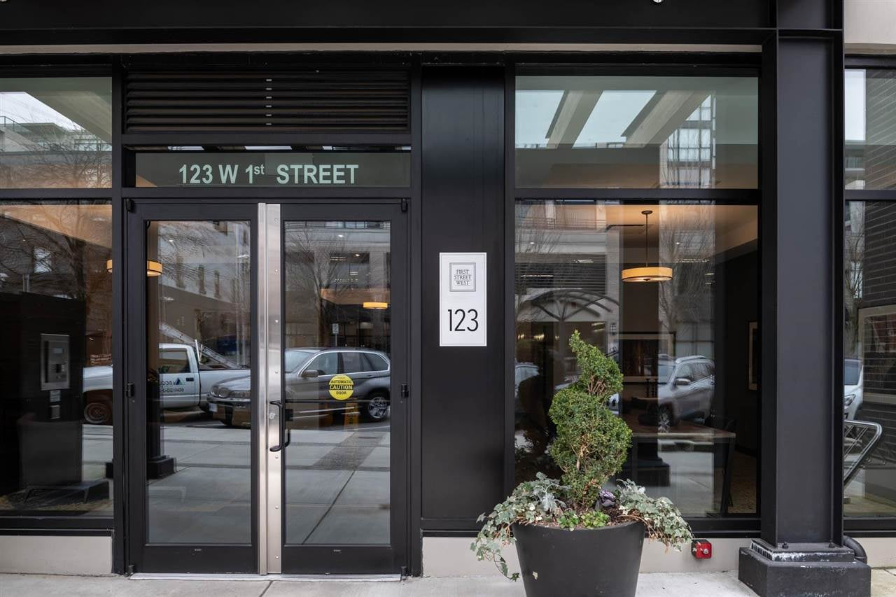 308 123 W 1ST STREET - Lower Lonsdale Apartment/Condo for sale, 1 Bedroom (R2589405) - #1