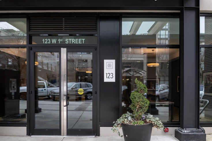 308 123 W 1ST STREET - Lower Lonsdale Apartment/Condo for sale, 1 Bedroom (R2589405)
