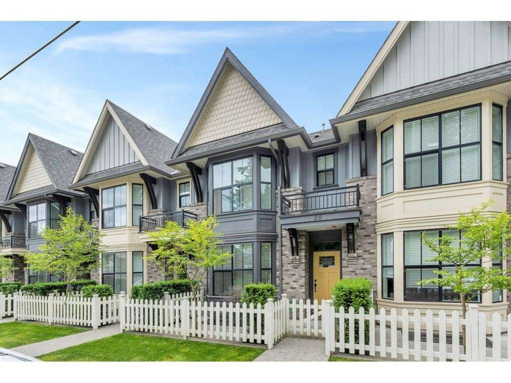 20 33460 LYNN AVENUE - Central Abbotsford Townhouse for sale, 4 Bedrooms (R2589433)
