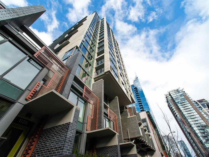 205 1133 HORNBY STREET - Downtown VW Apartment/Condo for sale, 1 Bedroom (R2589815)