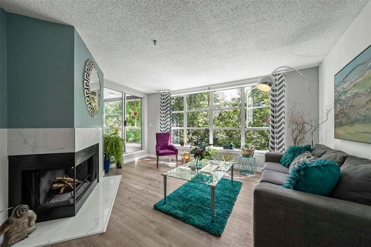 306 1705 NELSON STREET - West End VW Apartment/Condo for sale, 1 Bedroom (R2589849)