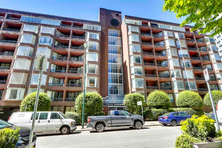 701 1333 HORNBY STREET - Downtown VW Apartment/Condo for sale(R2589861)