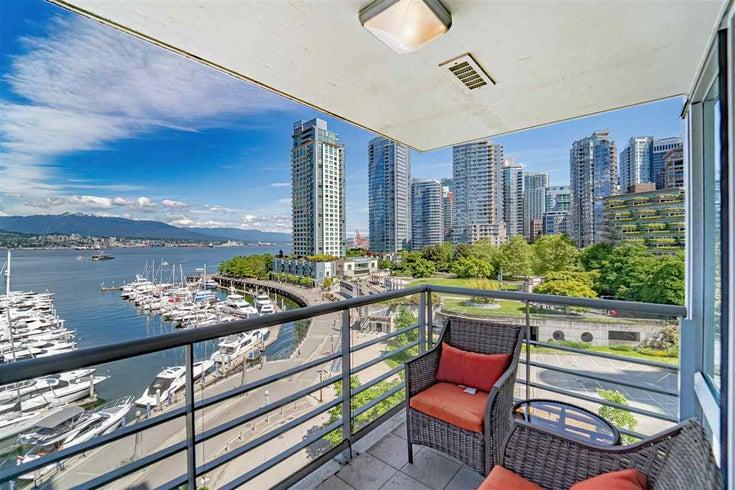 702 499 BROUGHTON STREET - Coal Harbour Apartment/Condo for sale, 2 Bedrooms (R2589873)