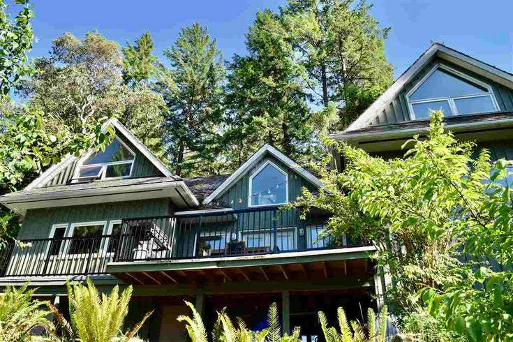 12916 DOGWOOD DRIVE - Pender Harbour Egmont House/Single Family for sale, 2 Bedrooms (R2589915)