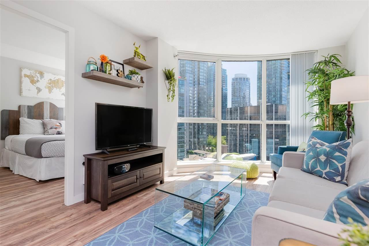 1608 555 JERVIS STREET - Coal Harbour Apartment/Condo for sale, 1 Bedroom (R2590247) - #1
