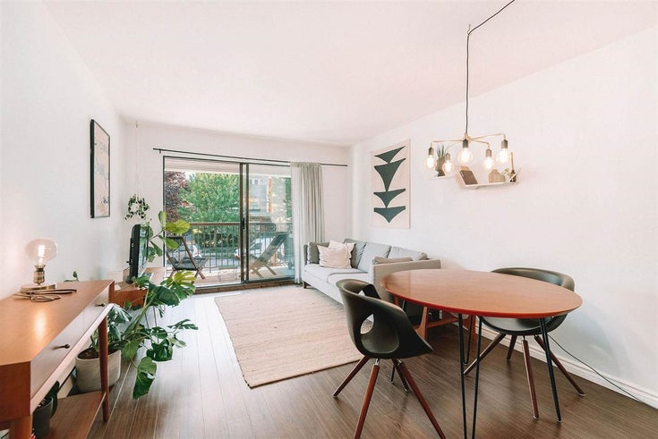 305 2045 FRANKLIN STREET - Hastings Apartment/Condo for sale, 1 Bedroom (R2590263)