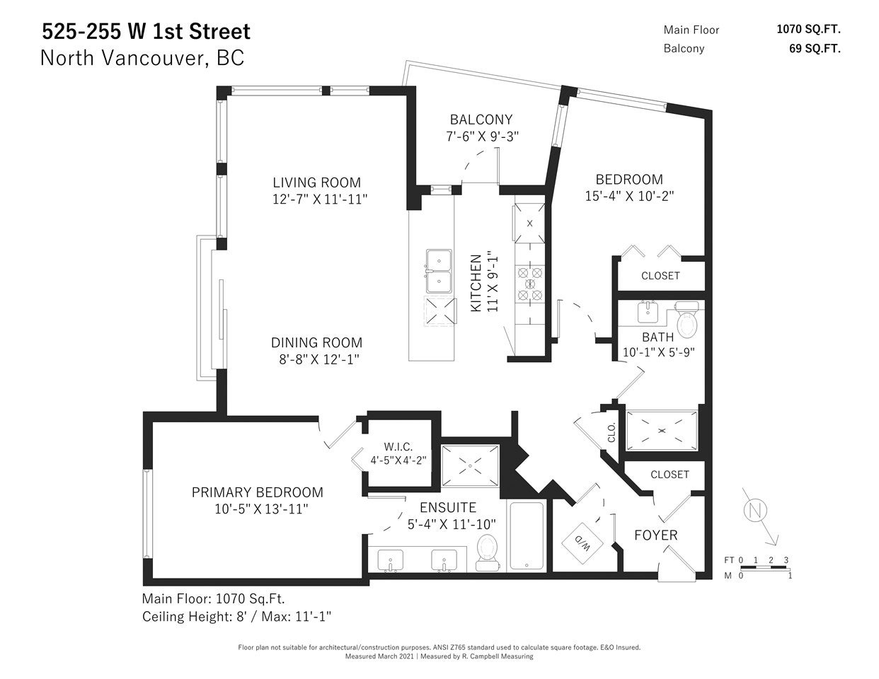 525 255 W 1ST STREET - Lower Lonsdale Apartment/Condo for sale, 2 Bedrooms (R2590620) - #16