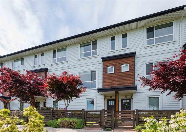 15 240 JARDINE STREET - Queensborough Townhouse for sale, 3 Bedrooms (R2590966)