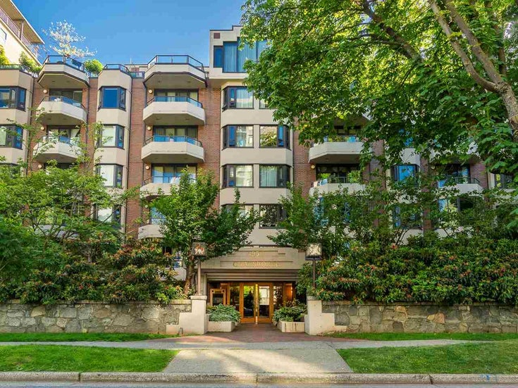 401 1950 ROBSON STREET - West End VW Apartment/Condo for sale, 2 Bedrooms (R2591053)