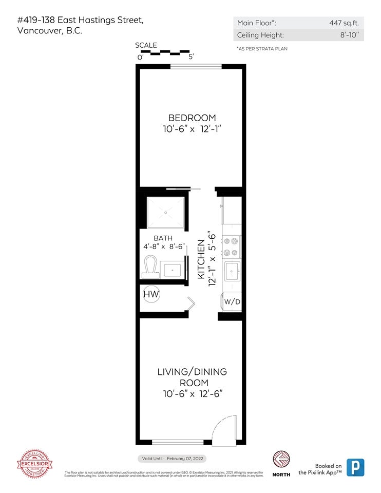 419 138 E HASTINGS STREET - Downtown VE Apartment/Condo for sale, 1 Bedroom (R2591060) - #20
