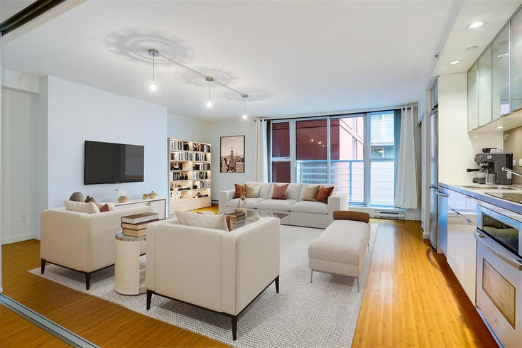 505 168 POWELL STREET - Downtown VE Apartment/Condo for sale, 1 Bedroom (R2591165)