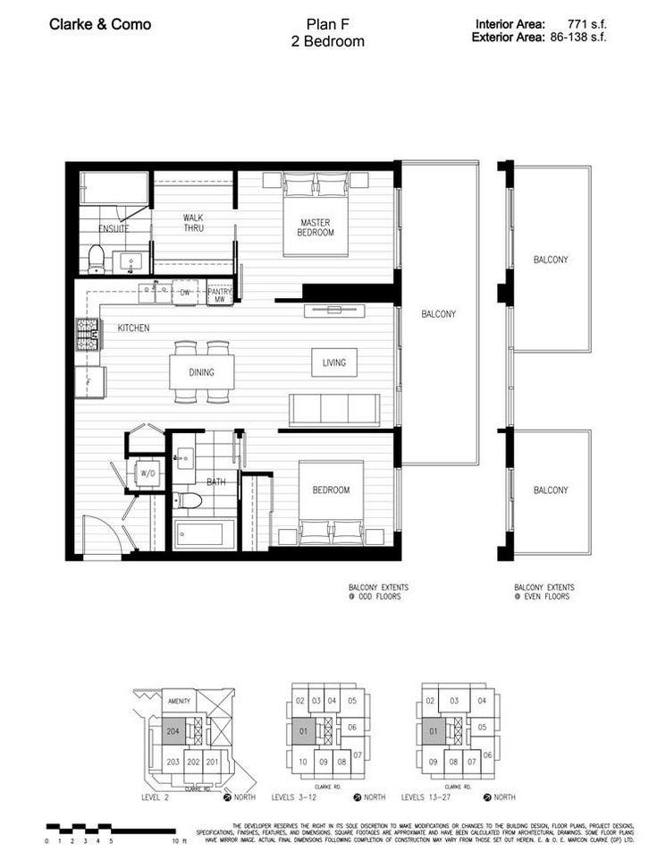 2101 567 CLARKE ROAD - Coquitlam West Apartment/Condo for sale, 2 Bedrooms (R2591171)