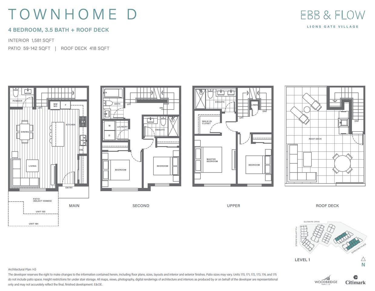 164 2035 GLENAIRE DRIVE - Pemberton NV Townhouse for sale, 4 Bedrooms (R2591437) - #11