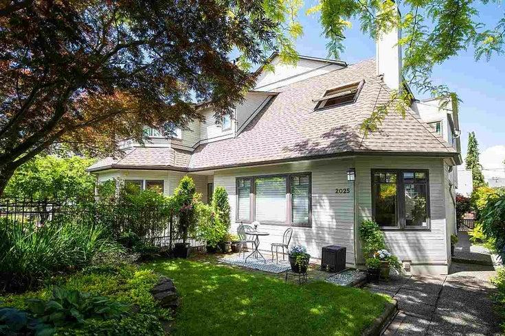 2025 W 14TH AVENUE - Kitsilano 1/2 Duplex for sale, 3 Bedrooms (R2591479)