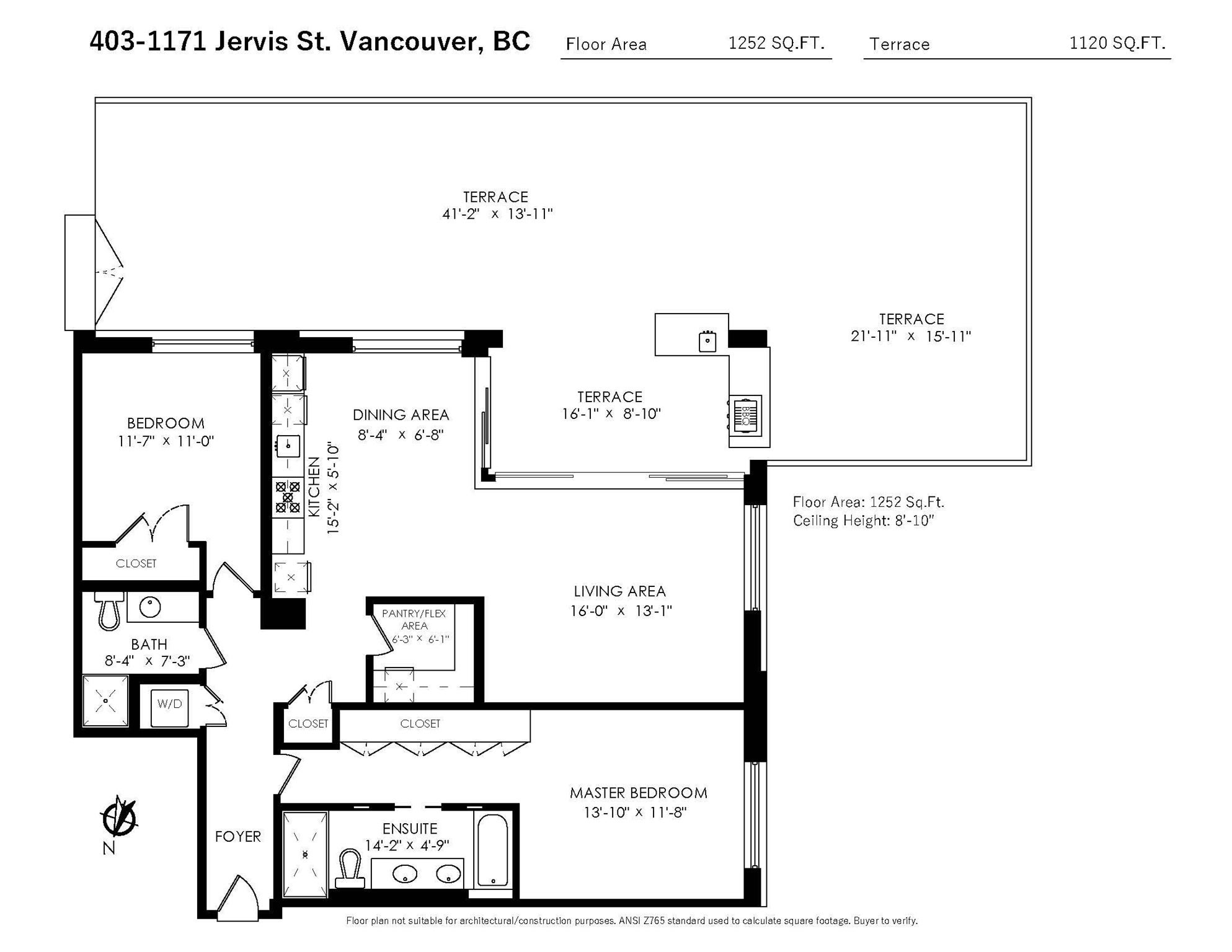 403 1171 JERVIS STREET - West End VW Apartment/Condo for sale, 2 Bedrooms (R2591528) - #30