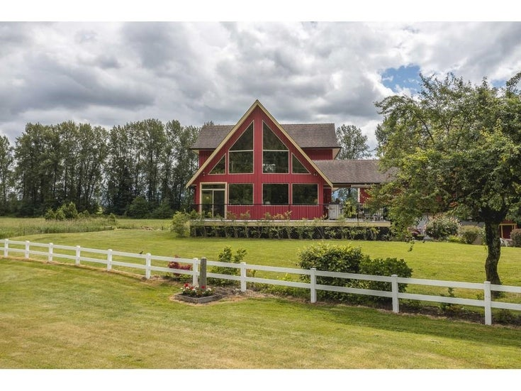 40606 NORTH PARALLEL ROAD - Sumas Prairie House with Acreage for sale, 5 Bedrooms (R2591576)
