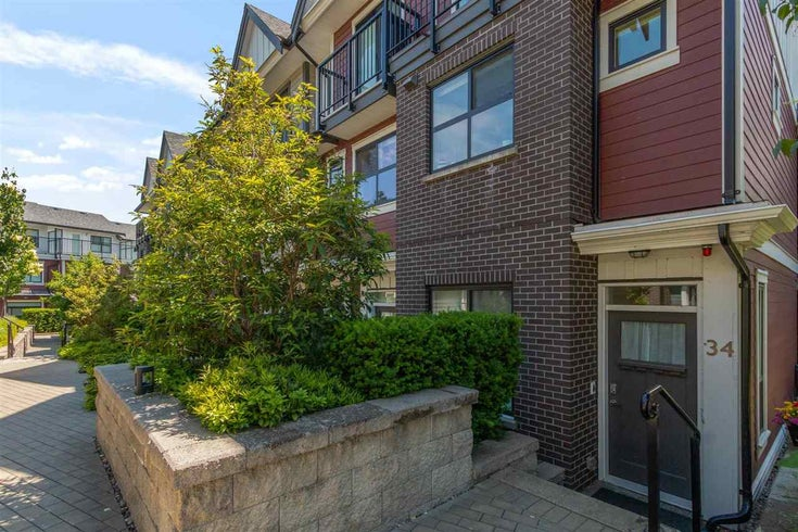 34 7039 MACPHERSON AVENUE - Metrotown Townhouse for sale, 2 Bedrooms (R2591605)