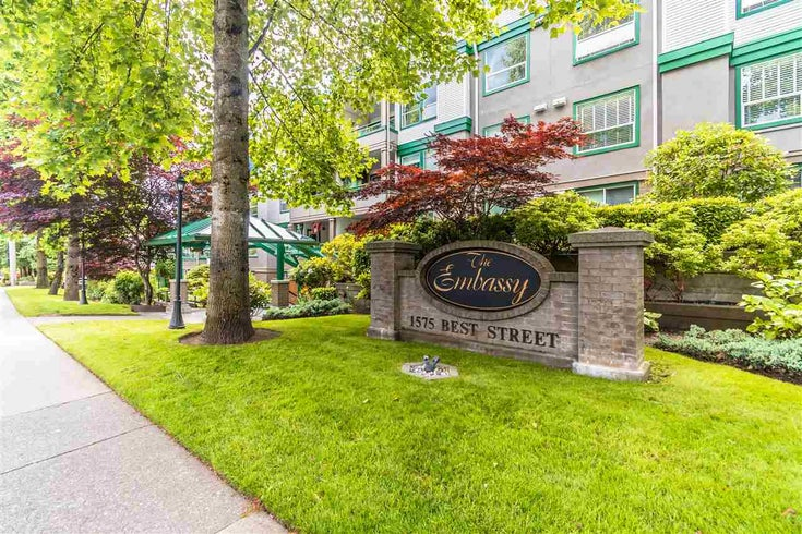 311 1575 BEST STREET - White Rock Apartment/Condo for sale, 1 Bedroom (R2591761)