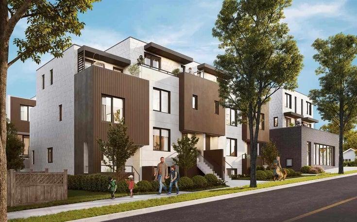 205 2075 E 1ST AVENUE - Collingwood VE Townhouse for sale, 3 Bedrooms (R2591800)