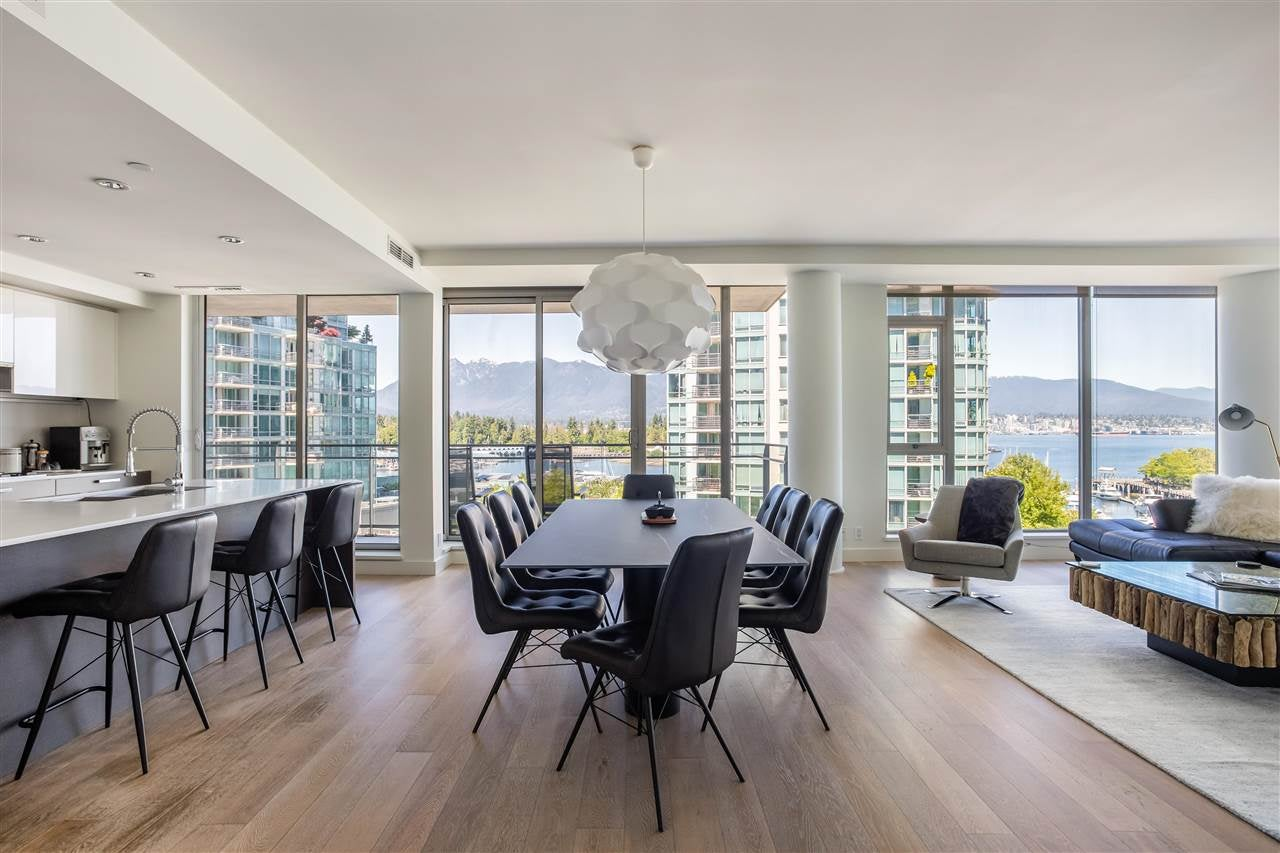 502 1409 W PENDER STREET - Coal Harbour Apartment/Condo for sale, 2 Bedrooms (R2591821) - #1