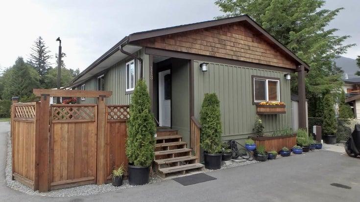 113 40157 GOVERNMENT ROAD - Garibaldi Highlands Manufactured for sale, 2 Bedrooms (R2591854)