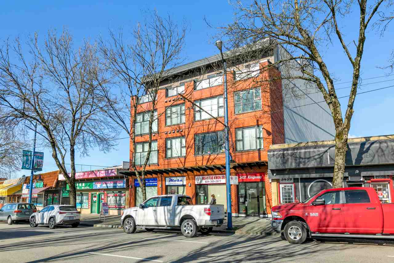 401 3437 KINGSWAY - Collingwood VE Apartment/Condo for sale, 2 Bedrooms (R2592050)