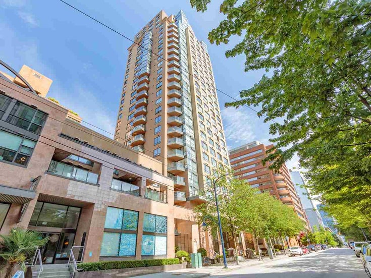 2403 1189 HOWE STREET - Downtown VW Apartment/Condo for sale, 1 Bedroom (R2592204)