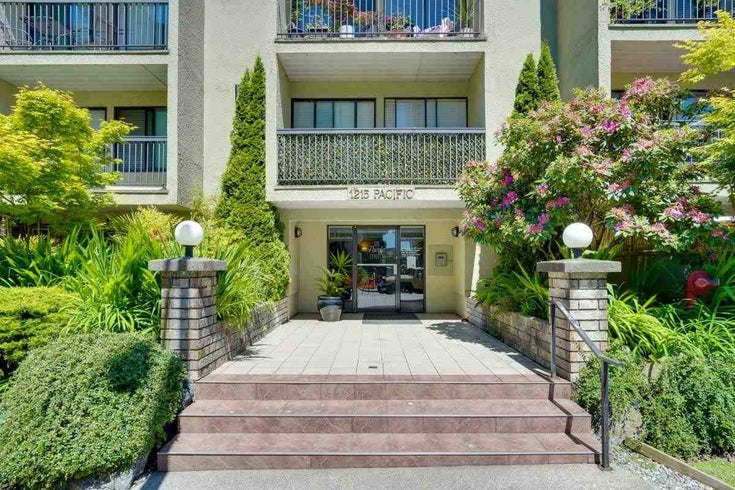 207 1215 PACIFIC STREET - West End VW Apartment/Condo for sale, 1 Bedroom (R2592422)