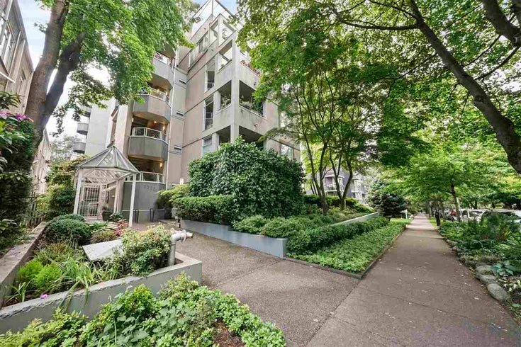 302 1220 BARCLAY STREET - West End VW Apartment/Condo for sale, 1 Bedroom (R2592561)