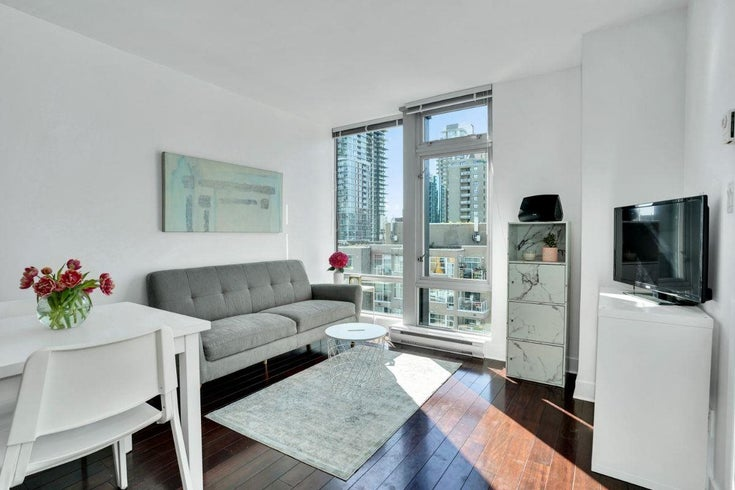 1206 1255 SEYMOUR STREET - Downtown VW Apartment/Condo for sale, 1 Bedroom (R2592597)