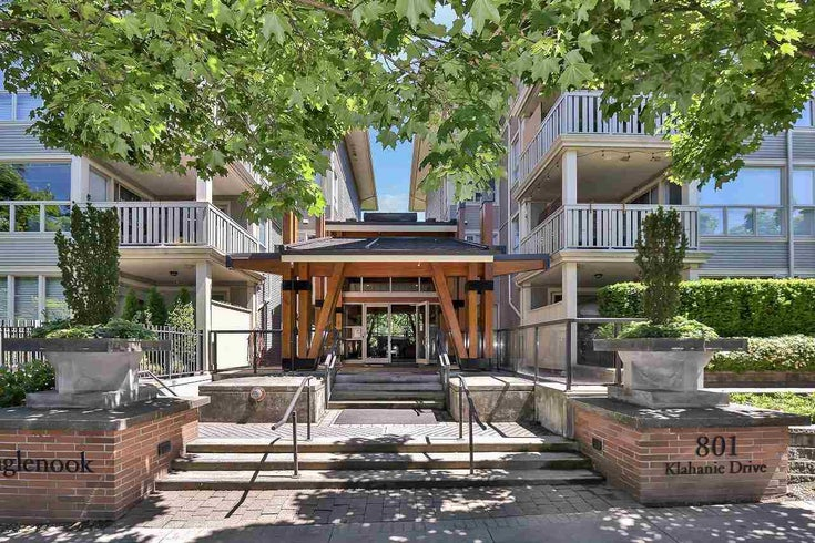303 801 KLAHANIE DRIVE - Port Moody Centre Apartment/Condo for sale, 2 Bedrooms (R2592640)