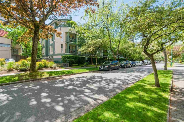 408 1928 NELSON STREET - West End VW Apartment/Condo for sale, 1 Bedroom (R2592664)
