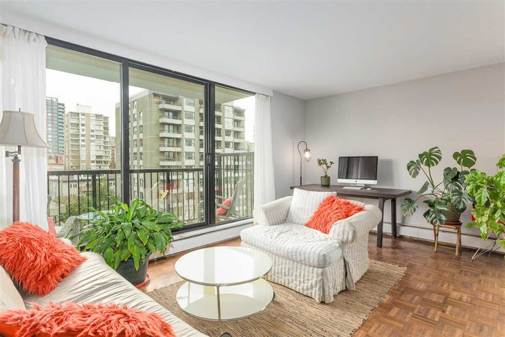 904 1330 HARWOOD STREET - West End VW Apartment/Condo for sale, 1 Bedroom (R2592807)